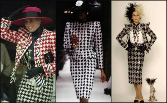 Vintage Houndstooth Looks